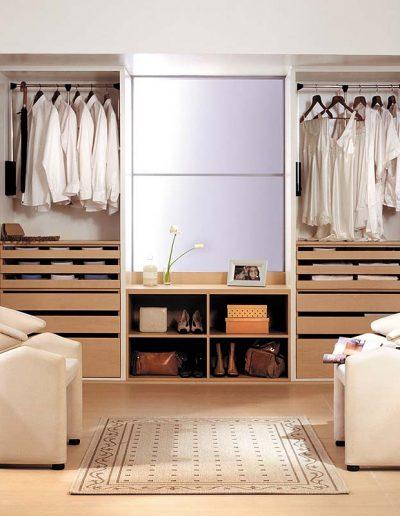 Placard Johnson Serie Elite Interiores y Vestidores - Catálogo de ArkMobili